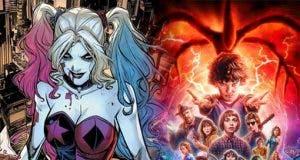 Harley Quinn añade al reparto de Stranger Things al canon de DC Comics