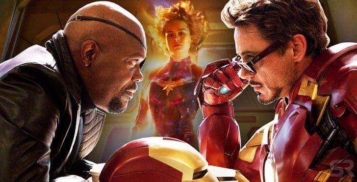 Iron Man 2 y los problemas de Capitana Marvel