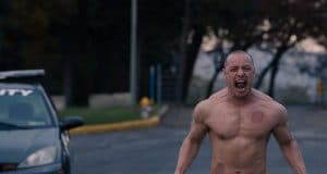 La Bestia (James McAvoy) en Glass (Cristal)