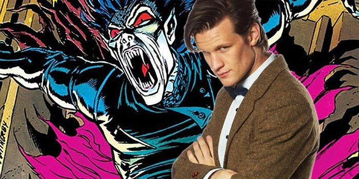 Matt Smith en Morbius