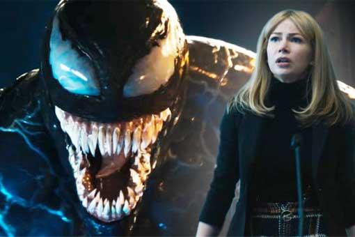 Michelle Williams confiesa que no entendió la película de 'Venom'