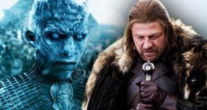 Ned Stark y los Caminantes Blancos en Juego de Tronos