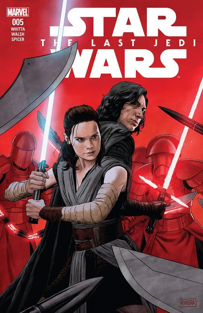 Portada de Star Wars: Los Últimos Jedi (Planeta Cómic)