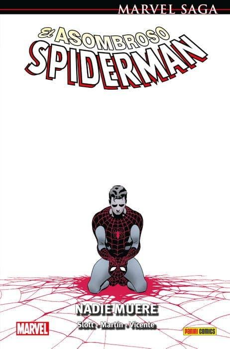 Portada de El Asombroso Spiderman: Nadie morirá (Dan Slott)