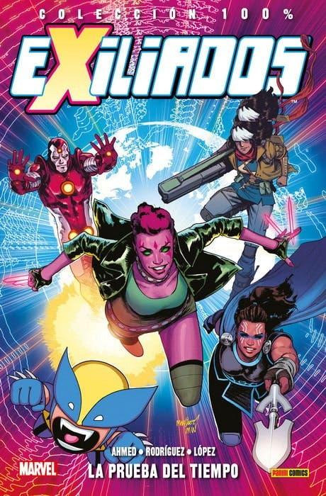 Portada de Exiliados: La prueba del tiempo (Panini Cómics - Marvel)
