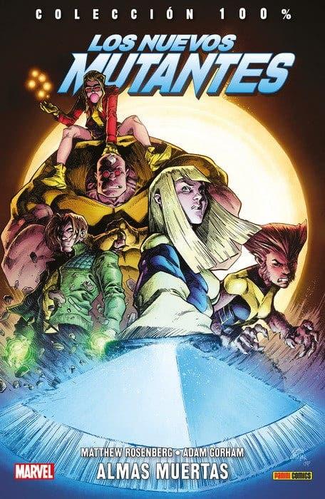 Portada de Los Nuevos Mutantes: Almas muertas (Panini Cómics)