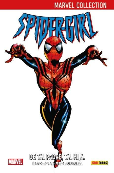 Portada de Spidergirl: De tal padre, tal hija (Marvel)