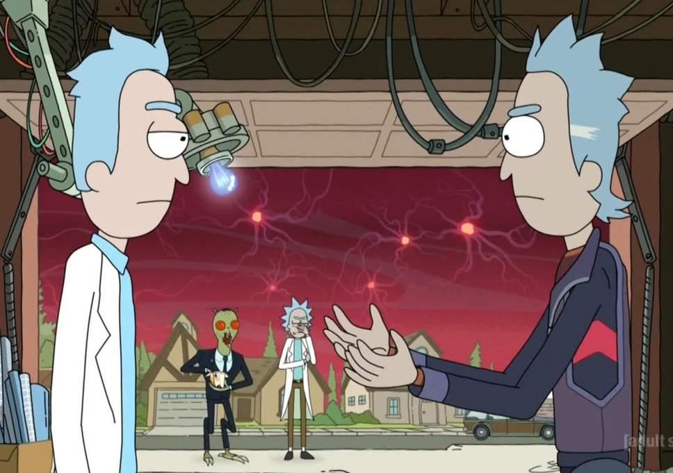 Impresiones de un traidor: Rick y Morty, y un pepinillo
