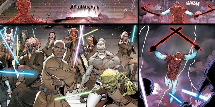 Star Wars revela la brutal venganza de Darth Vader contra los Jedi
