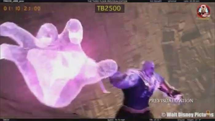 Casi vemos a Thanos en Vengadores: Infinity War con un nuevo poder