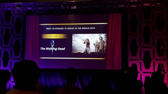 The Walking Dead | Series de televisión más populares de 2018