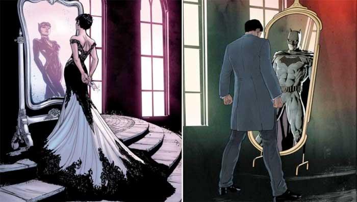 Así es la tormentosa relación entre Batman y Catwoman