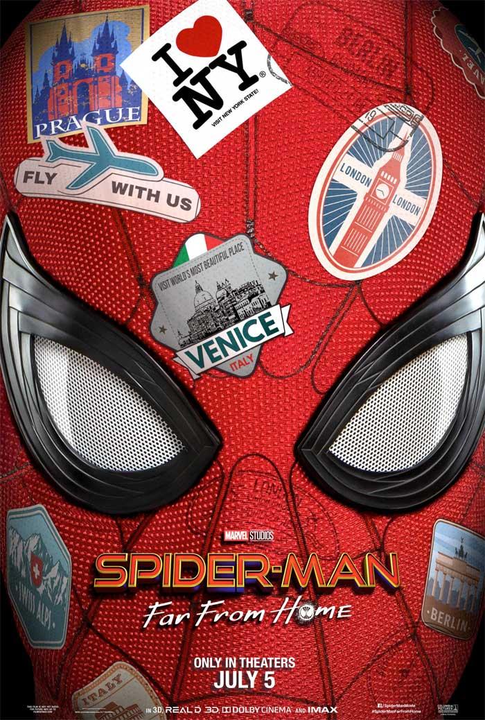 Primer tráiler de Spider-Man: Lejos de casa y nuevo póster