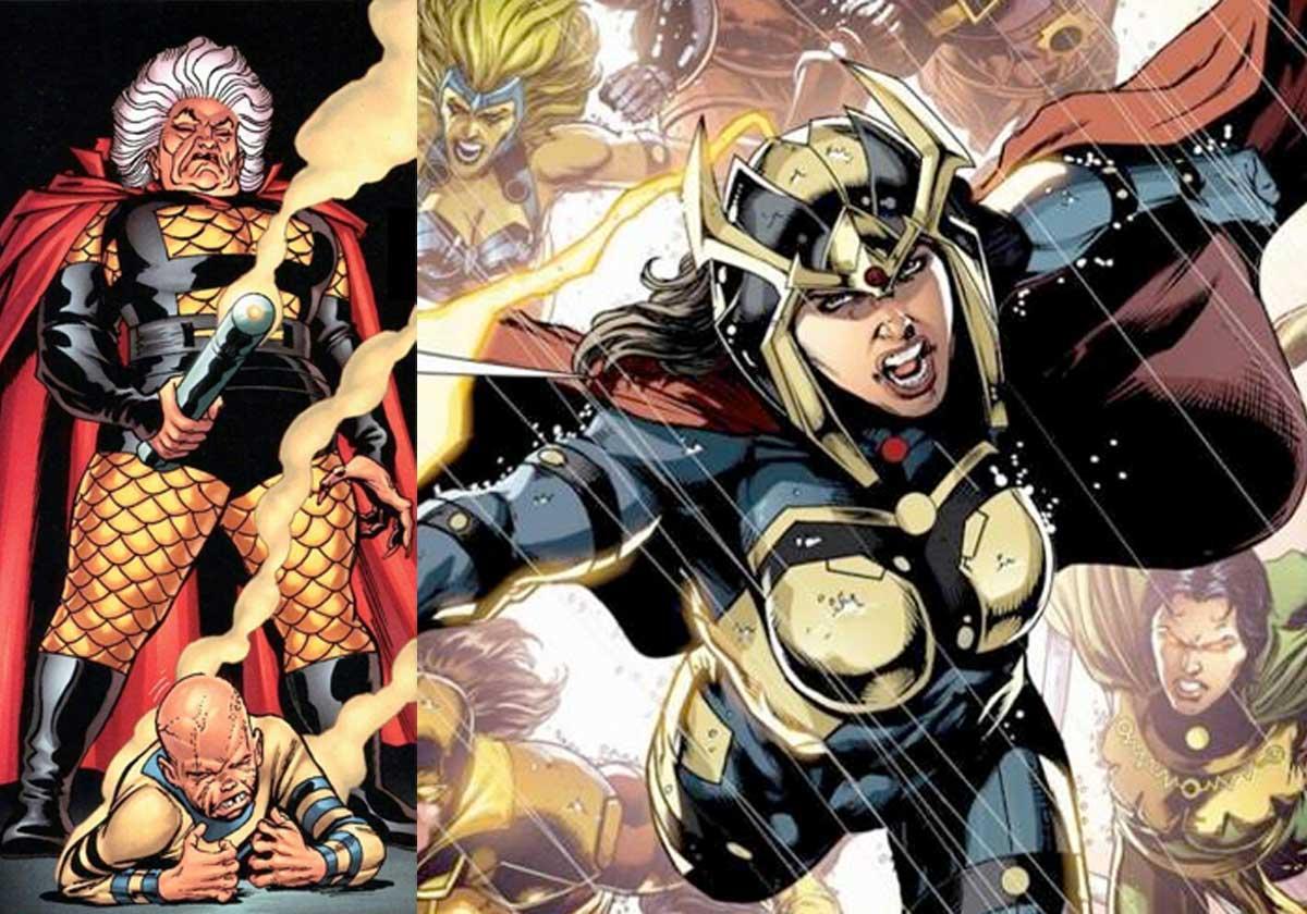 Reveladas las villanas de la película de DC Comics Nuevos Dioses