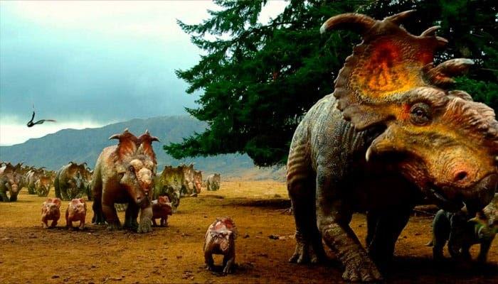 Caminando entre dinosaruios