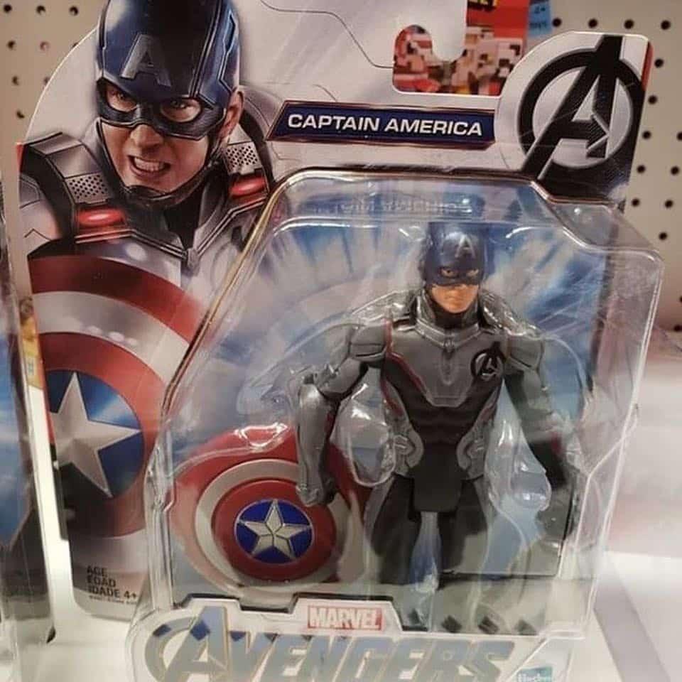 Capitan America Vengadores: Endgame