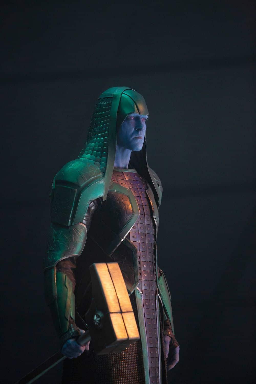 Capitana Marvel Ronan villano de los guardianes de la galaxia