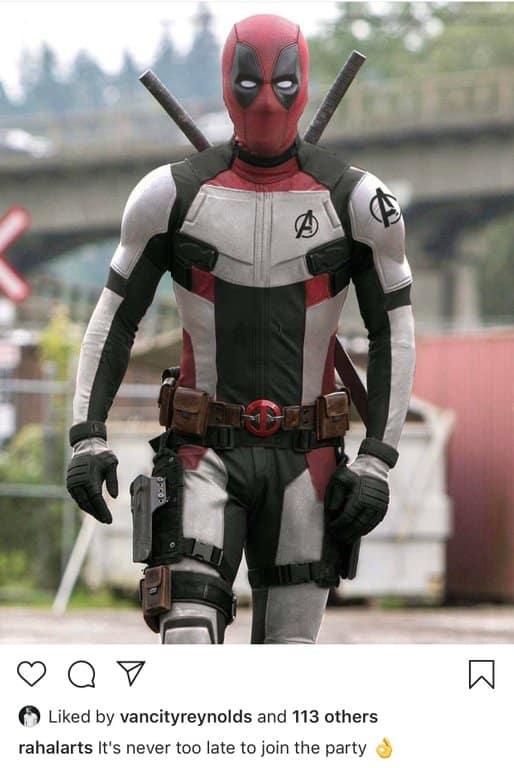 Deadpool Vengadores: endgame