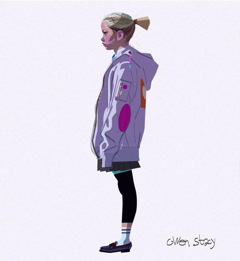 Spider-Man: Un nuevo universo Gwen Stacy