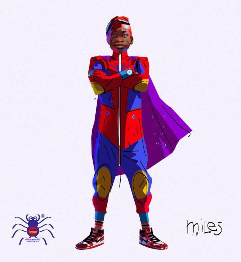 Concept art Alberto MielgoSpider-Man: Un nuevo universo