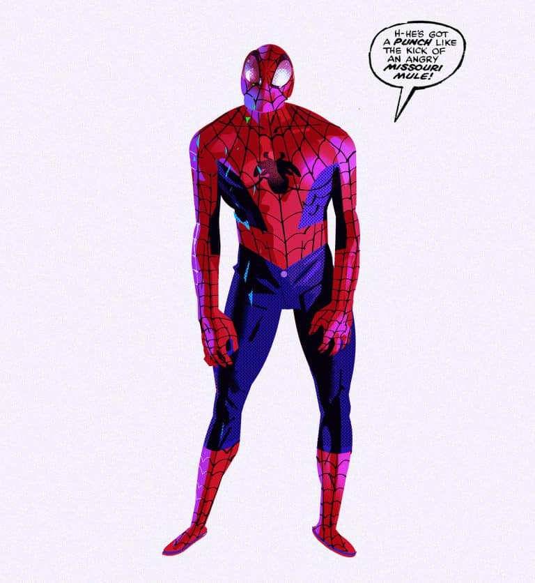 Concept art Spider-Man