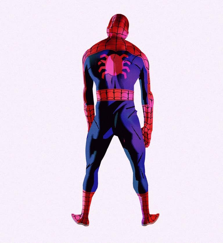 Concept art Spider-Man: Un nuevo universo