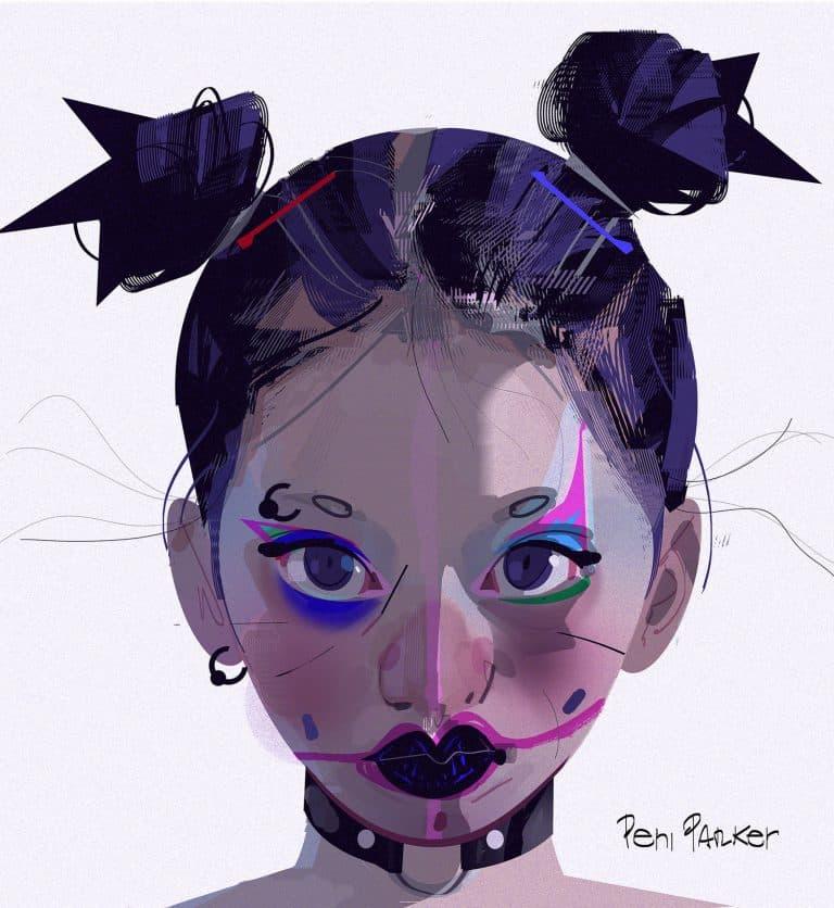 Concept art Peni Parker