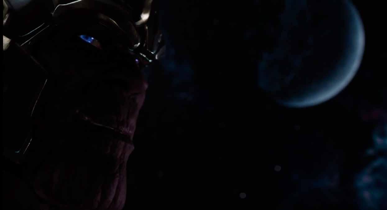 Thanos controlado por Loki
