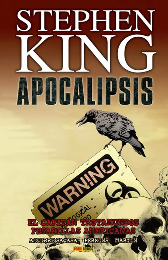 Portada de Apocalipsis de Stephen King 1 (Marvel - Panini Cómics)