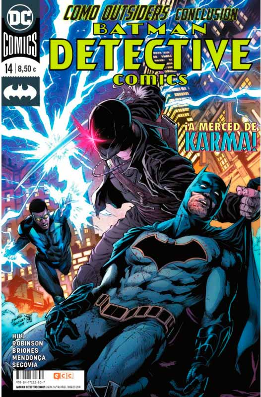 batman: detective comics 14 ecc ediciones