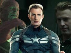 Capitán América y Thanos en Vengadores: Endgame (Marvel Studios)