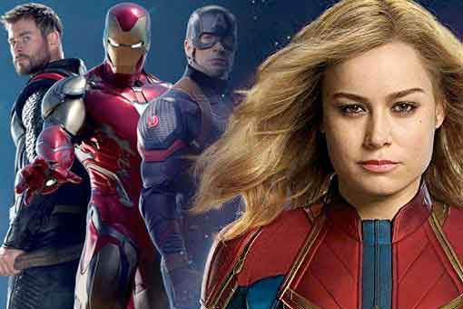 SPOILER de como Capitana Marvel regresará a Vengadores: Endgame