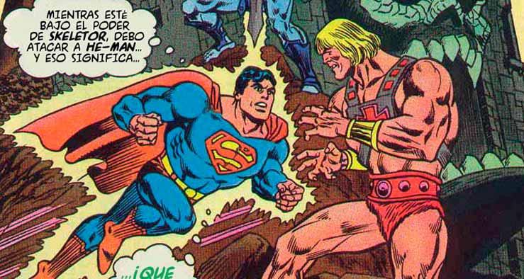 Universo DC vs Masters del Universo
