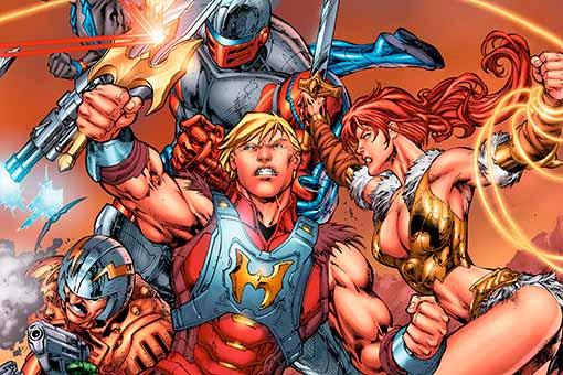Universo DC vs Masters del Universo dest