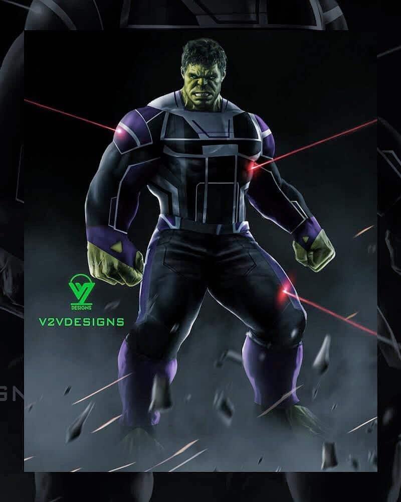 fan art profesor hulk