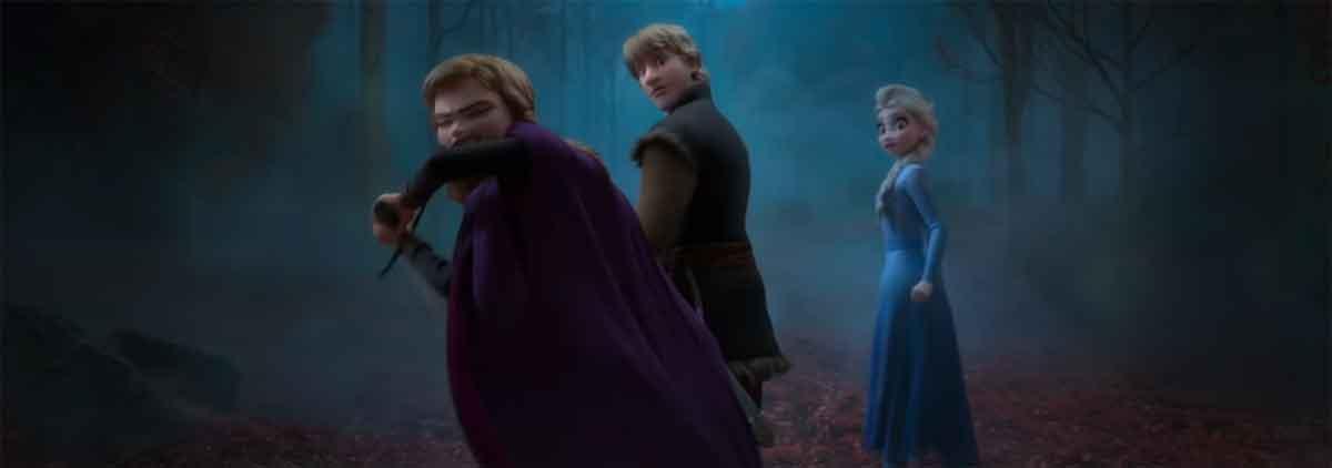 Primer teaser tráiler de Frozen 2 de Disney