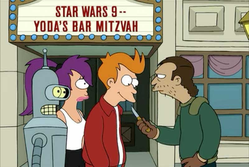 La predicción de Futurama sobre el título de Star Wars 9