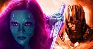 Vengadores: Endgame gamora clave para derrotar a Thanos
