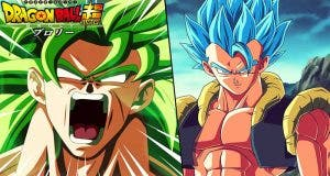 Gogeta y Broly en Dragon Ball Super