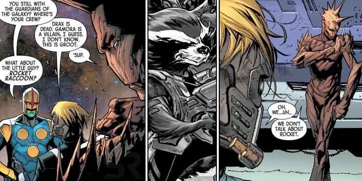 Groot es PUNK en el reboot de los Guardianes de la Galaxia