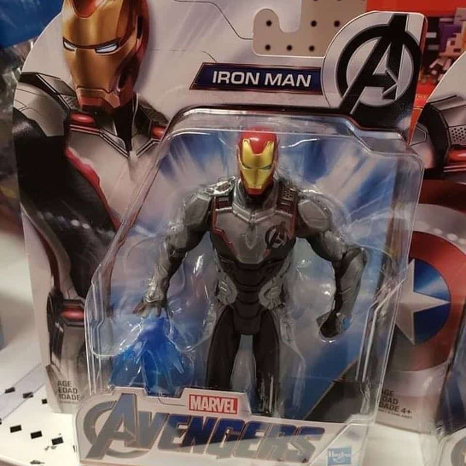Iron Man Vengadores: Endgame