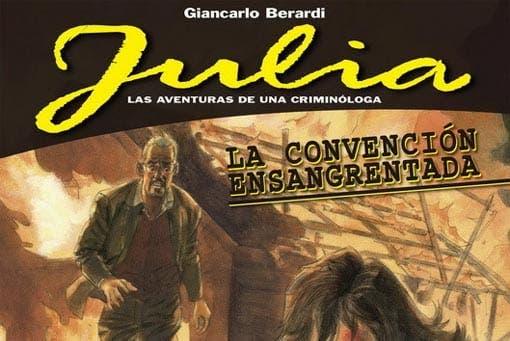 Julia: Las aventuras de una criminóloga - La convención ensangrentada (Panini Cómics)