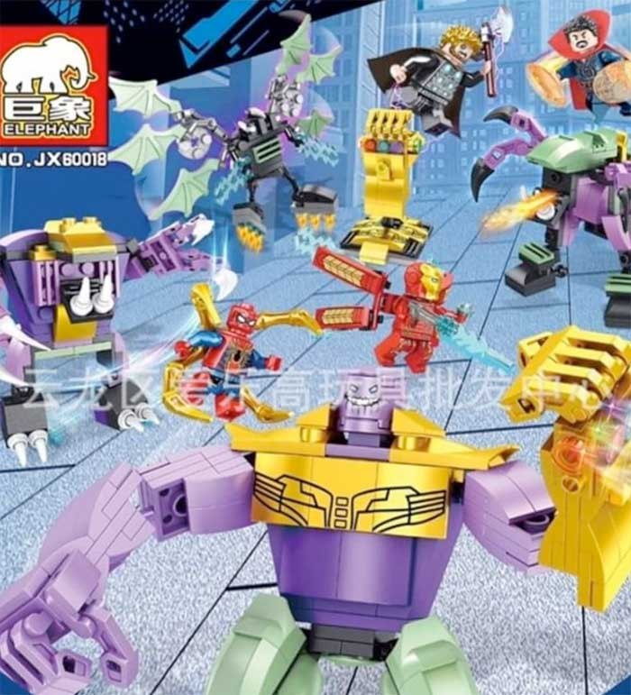 LEGO hace posible SPOILER de la batalla final de Vengadores: Endgame
