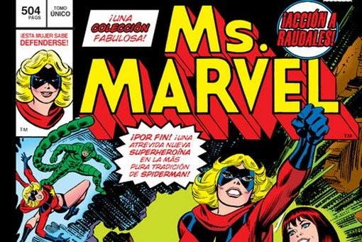 Marvel Gold. Ms. Marvel (Marvel - Panini Cómics)