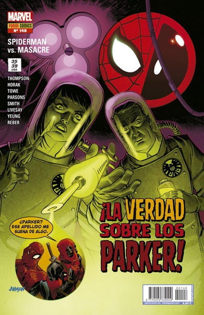 Portada de El Asombroso Spiderman 148 (Marvel - Panini Cómics)