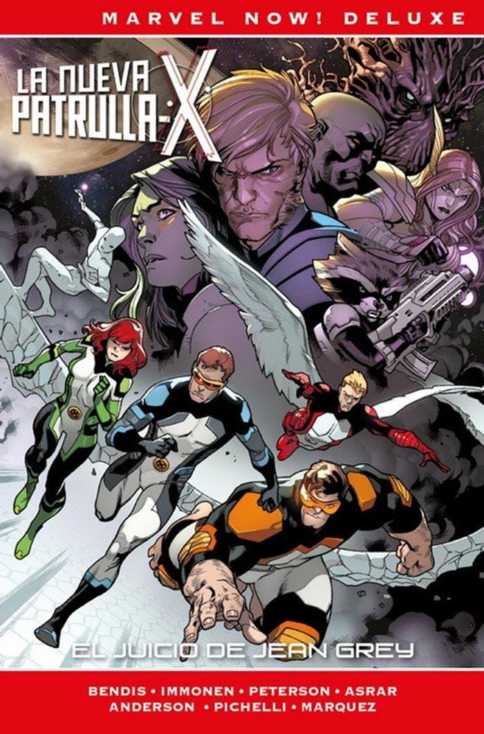 Portada de La Nueva Patrulla-X: El juicio de Jean Grey (Marvel - Panini Cómics)