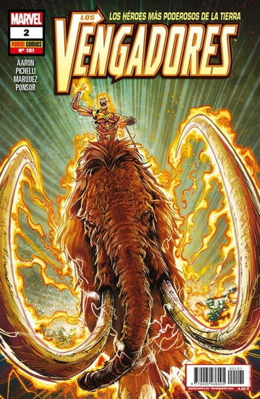 Portada de Los Vengadores 2 (Marvel - Panini Cómics)