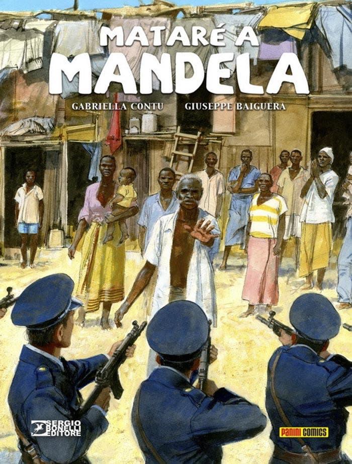 Mataré a Mandela (Panini Cómics)