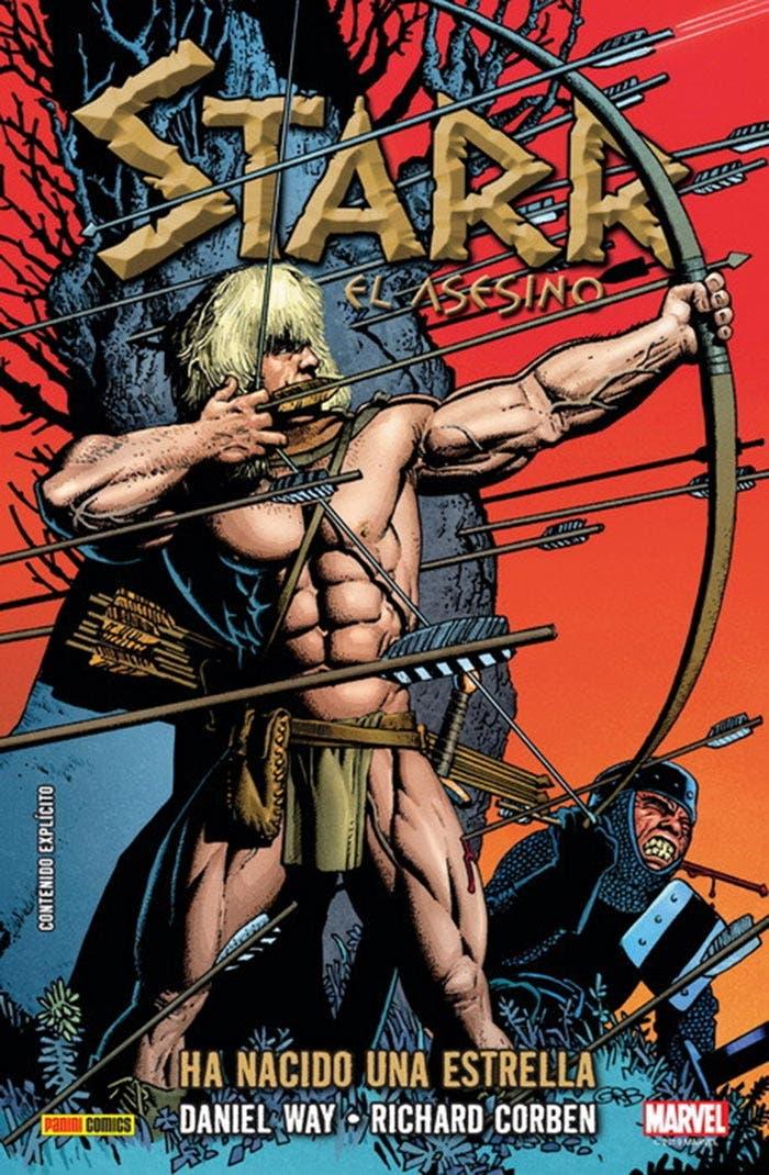 Portada de Starr El Asesino (Marvel - Panini Cómics)