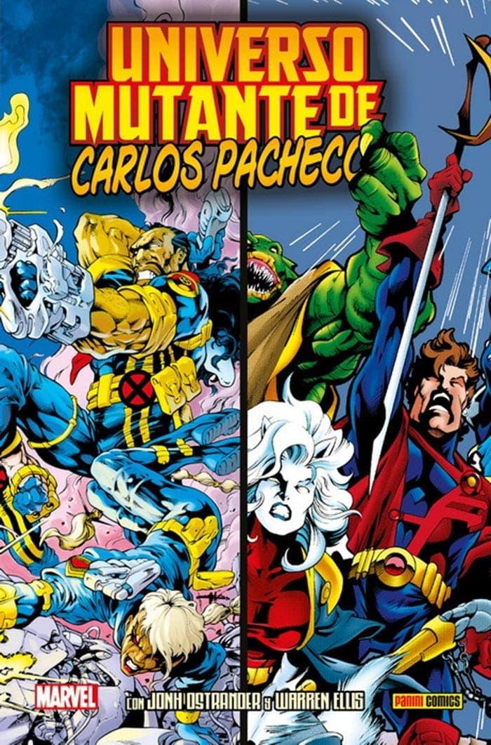 Portada de Universo Mutante de Carlos Pacheco (Marvel - Panini Cómics)